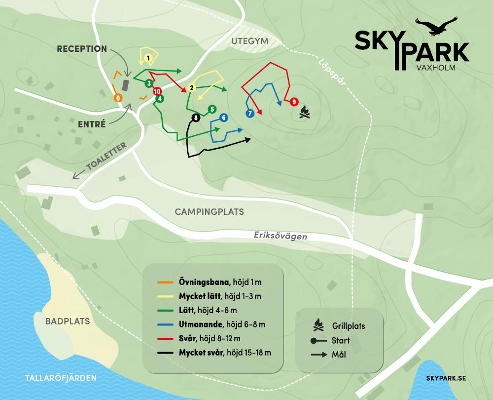 Skypark karta